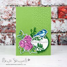 Stampin Up Blütenfantasie Blütentraum petal pair Prägefolder Flower Petals, Flowers, Stamping, Up, Palette, Cards, Florals, Stamping Up, Stamps