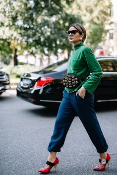 21. #StreetStyle Milan Fashion Week