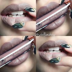 anastasia beverly hills liquid lipstick in sepia Makeup Inspo, Makeup Inspiration, Makeup Tips, Beauty Makeup, Lipstick Colors, Lip Colors, Kiss Makeup, Hair Makeup, Makeup Obsession