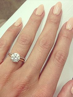 Cat Deeley's Engagement Ring simple yet perfect  - Agent Engagement @AgentEngagement