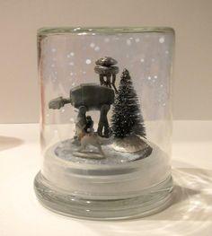 DIY Hoth Snowglobe                                                                                                                                                                                 More
