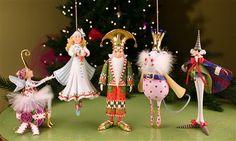 Patience Brewster Nutcracker Ornament Set  | Patience Brewster Christmas Ornaments
