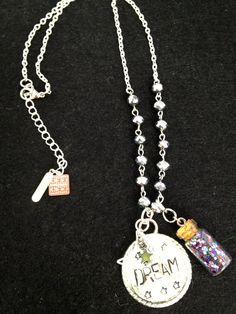Hand stamped Metal Jewelry Dream For The Stars by LLMExclusive, $40.00