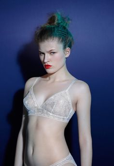 Eres Fall/Winter 14-15 collection - Sophie Hallette Lace