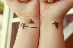 tattoo de flor que vira passaro - Pesquisa Google