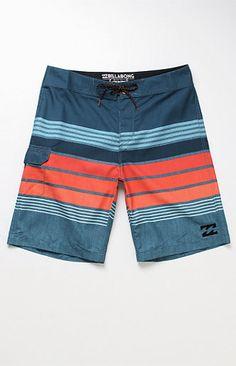 "All Day Stripe 21"" Boardshorts"