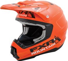FXR Racing - Snowmobile Gear - Torque Helmet - Orange MTN