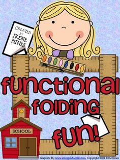 Functional Folding Fun! {Based On Common Core Standards}    Elementary Paper Folding Flap Books For All Subject Areas!    Just print, fold, cut and you are ready to go! Print on colored paper for an added variety! This 80 page unit includes a variety of folding flap books including:  blank books which can be used for any topic, Venn Diagrams, word families, contractions, grammar, character map, vocabulary, short & long vowels, math, science and social studies topics too!