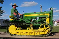 1956 John Deere 420 Crawler Equipment For Sale, Trucks For Sale, Tractors, Remote, Tractor, Pilot