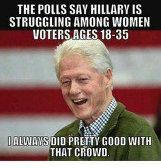 Jokes about bill clinton think