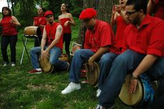 """As part of Make Music NY 2012 the Museum for African Art presents """"La Bomba Soy Yo,"""" a free outdoor community bomba class and drum circle with Alma Moyo. June 21st at the MfAA plaza, Fifth Avenue and 110th Street!"""