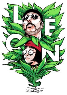 Leon: the professional - Leon and Mathilda Professional Wallpaper, The Professional Movie, Professional Poster, Leon The Professional Mathilda, Mathilda Lando, Art Sketches, Art Drawings, Jean Reno, Gary Oldman