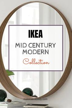 Their new Vintage collection - IKEA does Mid-Century Modern! Their new Vintage collection IKEA mid century modern collection - Mid Century Modern Bathroom, Mid Century Bedroom, Mid Century Modern Living Room, Mid Century Modern Decor, Mid Century House, Mid Century Modern Furniture, Mid Century Design, Mid Century Console, Mid Century Modern Sideboard