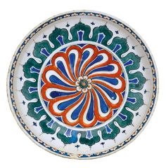 An Iznik polychrome pottery dish, Turkey, circa 1575-80 | Lot | Sotheby's