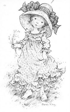 sarah kay coloring pages Free Adult Coloring, Free Coloring Pages, Farm Animal Coloring Pages, Coloring Books, Holly Hobbie, Penny Black, Cute Images, Digi Stamps, Illustrations