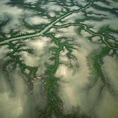 Geoarte: Las maravillosas fotografías aéreas de BernhardEdmaier