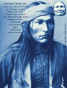 Native American Prayer☆ For your body.♡