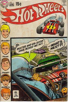 Hot Wheels Comics #1