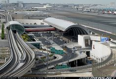 Overview of the Dubai International Airport - Terminal 3 (exclusive for Emirates)