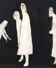 Лоуренс Лоури. «Страдание» 1969