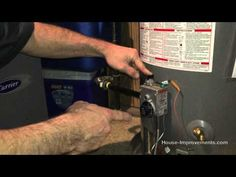 How To Light A Gas Water Heater Pilot Light - YouTube