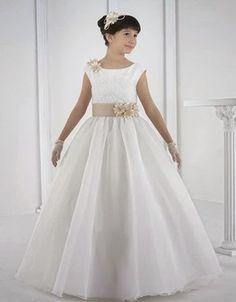 Resultado de imagen para pinterest vestidos primera comunion para niñas gorditas y grandes