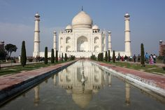 Taj Mahal allí estaré.