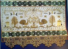 Russian embroidery and lace