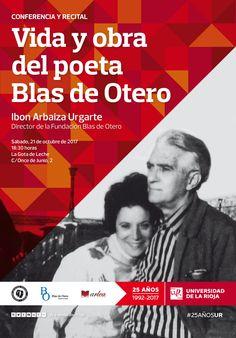 Conferencia recital sobre la vida y obra del poeta Blas de Otero