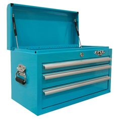 Found it at Wayfair - 3 Drawer Top Chest in Teal