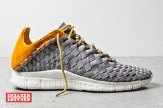Nike woven!! so sick!!Sneaker Freaker Magazine