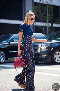 Natalie Joos Street Style Street Fashion Streetsnaps by STYLEDUMONDE Street Style Fashion Photography