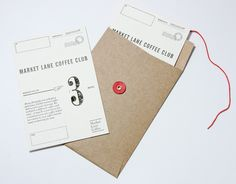 MARKET LANE COFFEE CLUB GIFT CERTIFICATE