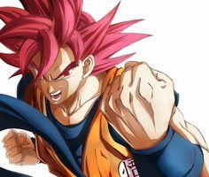 Goku - Super Saiyajin God Dragon Ball Z, Dragon Ball Image, Hero Fighter, Ssj3, Epic Characters, Z Arts, Son Goku, Super Saiyan, Manga