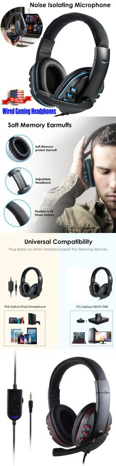Luxon Gaming Headphone with Microphone Surround Stereo Headset for
