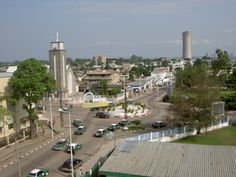 This is Brazzaville, the capital of the Congo. This is the largest city in the Congo. It has a population of 1,373,382.