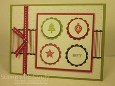 Merry Minis for Freshly Made Sketches by stampwithsandy - Cards and Paper Crafts at Splitcoaststampers