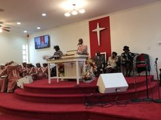 The church always get fired up in GODS presence