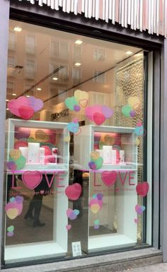 valentines day window decorations