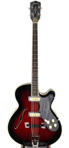 Framus 5 150 Starbass Bass Guitar Bill Wyman Vintage Series Black Rose Finish. Introduced in 1956