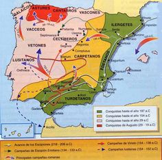 Roman Occupation of Spain In Ancient Times, Ancient Rome, Ancient History, Spain History, Art History, A Level Spanish, Punic Wars, Roman Era, History Timeline