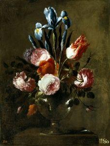 Flowers in a Vase - Juan de Arellano - The Athenaeum