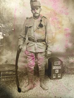 My great-grandfather during World War 1. He was fighting for the Austro-Hungarian empire. (If the number underneath the year is a date then this picture is almost exactly 100 years old.) http://ift.tt/2zso4Wm