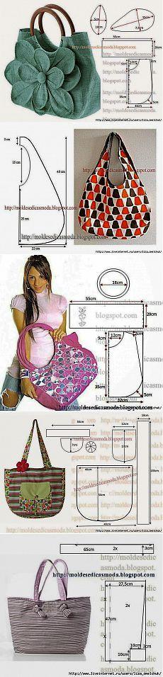 Шьем сумки к лету сами (выкройки сумок). Обсуждение на LiveInternet - Российский Сервис Онлайн-Дневников