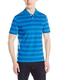 Original Penguin Men's Wide Stripe Polo Shirt http://www.evthm.com/index.php/product/original-penguin-mens-wide-stripe-polo-shirt/