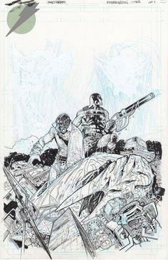 Felix Comic Art :: For Sale Artwork :: EXTERMINATION by artist James Harren