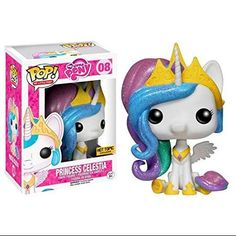 My Little Pony Princess Celestia Hot Topic Exclusive. This is the Funko Pop! My Little Pony Princess Celestia Hot Topic Exclusive. Pop Vinyl Figures, Princesa Celestia, Film Science Fiction, Funko Pop Dolls, Funko Toys, Pop Figurine, My Little Pony Princess, Funk Pop, Disney Pop