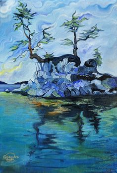 Little Blue Island Cassandra Dolen Inspired by the my youth on ...