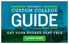 53 best adam college images on pinterest creative gifts gift rh pinterest com Dave Ramsey College Advice Dave Ramsey Graduate College