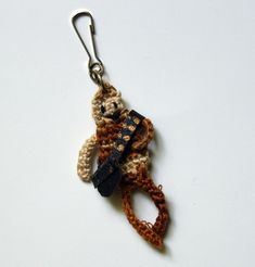 Crochet a Teeny Chewbacca Zipper Pull